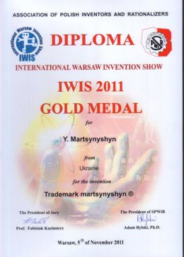 Диплом IWIS 2011, Варшава